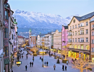 Innsbruck and Swarovski Crystal Museum (support in Russian)